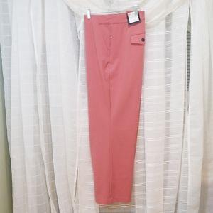 Roz & Ali Pants Trousers - Salmon w/tummy control